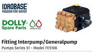 Dolly-Spare-Parts---Fitting-InterpumpGeneralpump---Series-51---Model-FE5108