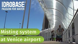 Misting-system-at-Marco-Polo-Venice-airport